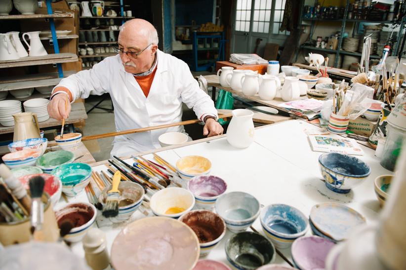 Processo de pintura • Painting process